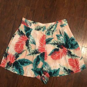 Floral Topshop shorts